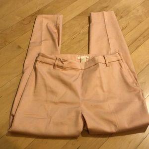 H&M pink dress pant